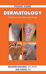 Pocket Guide Dermatology Book - Front Cover